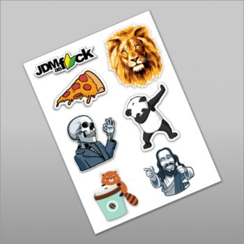 Sticker Sheet 8.5